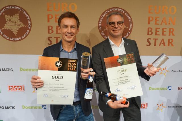 Gold und Silber für European Beer Star