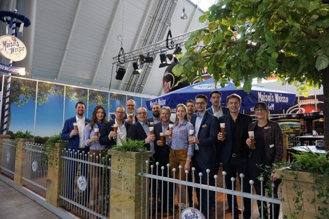 """Team des """"Maisel's Weisse Biergarten"""" auf der INTERGASTRA"""