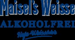 Maisel's Weisse Alkoholfrei Schriftzug