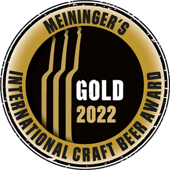 Gold-Logo des Meiniger´s International Craft Beer Award
