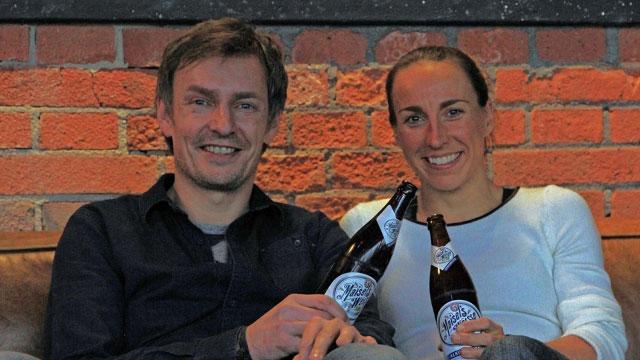 Anne Haug mit Jeff Maisel