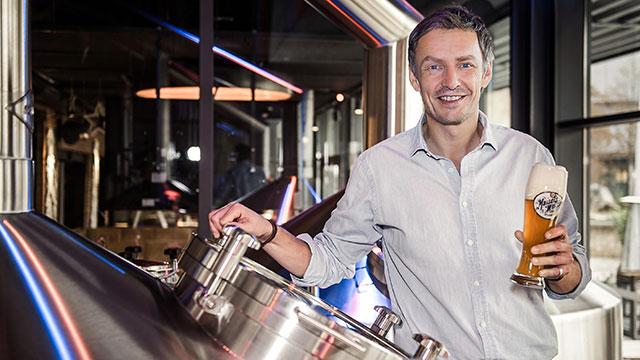Jeff Maisel in der Brauerei