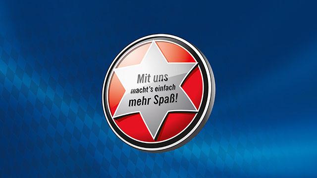 Maisel's Stern mit Schriftzug
