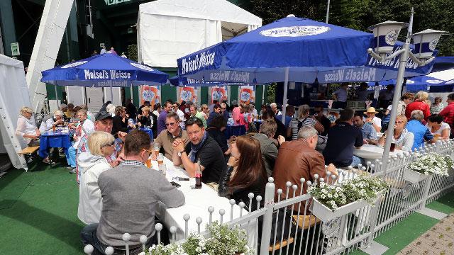 Der Maisel's Biergarten bei den Noventi Open