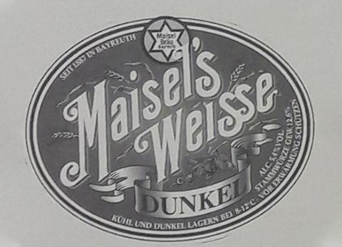 Altes Logo vom Maisel's Weisse Dunkel