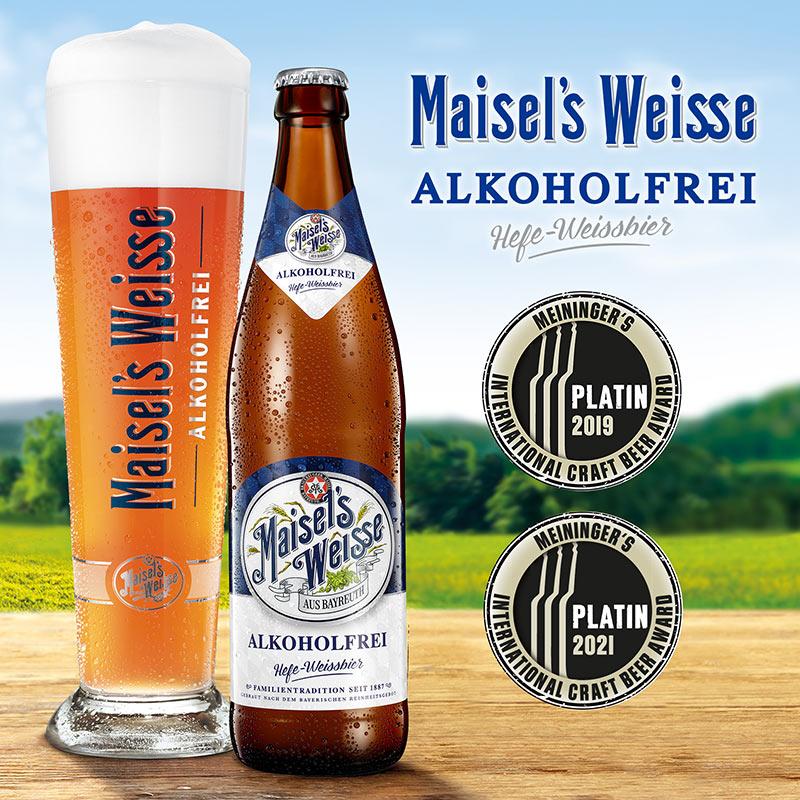 Maisel's Weisse Alkoholfrei Meininger Award 2021