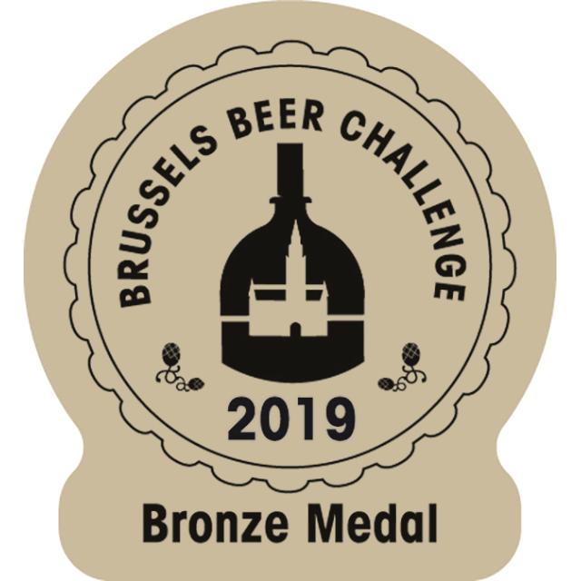 Brussels Beer Challenge 2019, Bronze Medal Logo