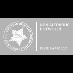 European Beer Star 2020 Silver Logo
