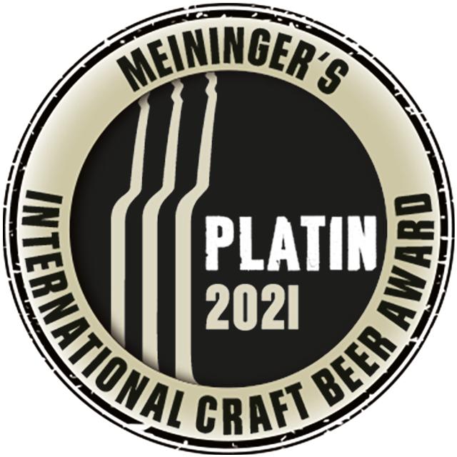 Meininger´s International Craft Beer Award 2021 Platin Logo