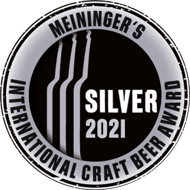 Meiningers International Craft Beer Award 2021, Silver Logo