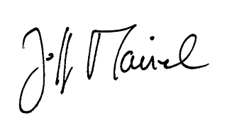 Unterschrift von Jeff Maisel