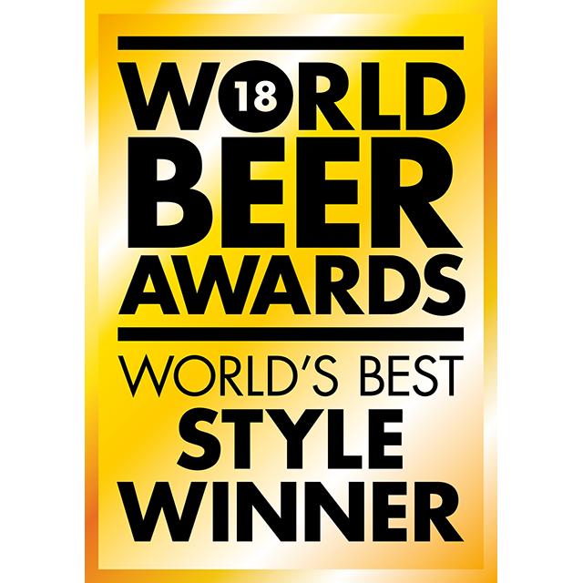 World Beer Awards 2018, World´s best style winner Logo